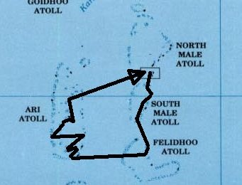 malediven_map_schiffsroute