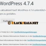WordPress 4.7.4 und 4.6.5 ist da