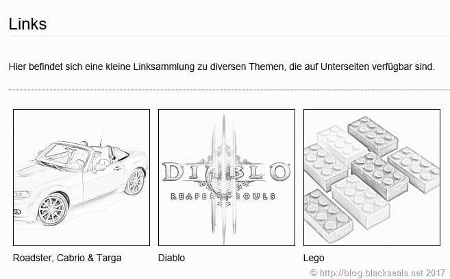 Read more about the article Fehler bei der Galerie, Linksammlung und Downloads *Update*