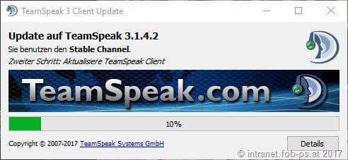 Read more about the article TeamSpeak Client 3.1.4.2 erschienen