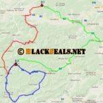 Saturday-Night-Cruising 2017: Kalte Kuchl, Ramsau und Rohrer Sattel