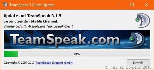 Read more about the article TeamSpeak Client 3.1.5 erschienen