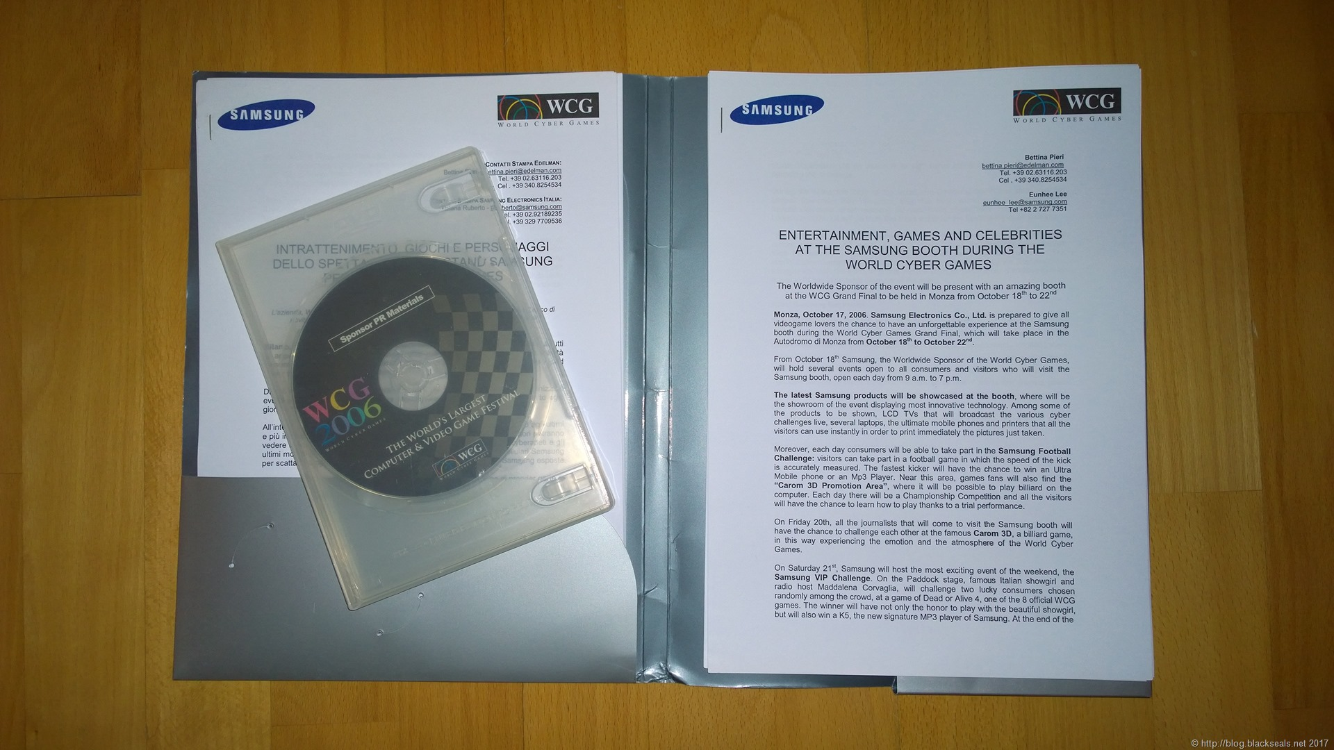 Read more about the article Es war einmal die World Cyber Games 2006