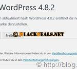 WordPress 4.8.2 ist da *Update*