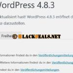 WordPress 4.8.3 ist da