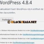 WordPress 4.9.1 und 4.8.4 ist da