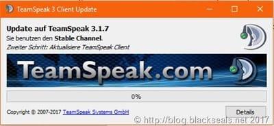 Read more about the article TeamSpeak Client 3.1.7 erschienen