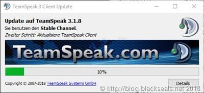 Read more about the article TeamSpeak Client 3.1.8 erschienen
