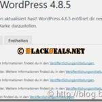 WordPress 4.9.2 und 4.8.5 ist da