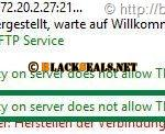 Microsoft FTP(S)-Server: 534 Local policy on server does not allow TLS secure connections