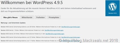 Read more about the article WordPress 4.9.5 ist da