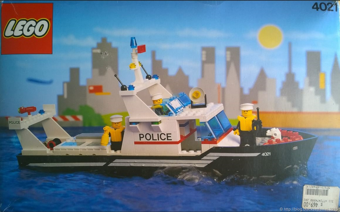 Read more about the article Die Lego Wasserschutzpolizei 4021