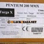 Es war einmal der Targa X mit einem Pentium 200 MMX