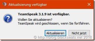 TeamSpeak Client 3.1.9 erschienen