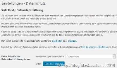 wordpress_einstellungen_datenschutz