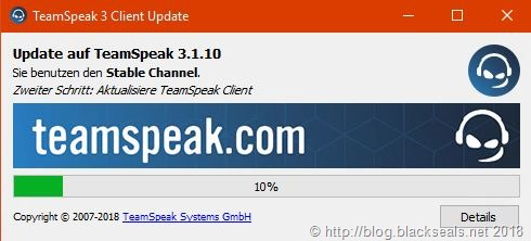 TeamSpeak Client 3.1.10 erschienen
