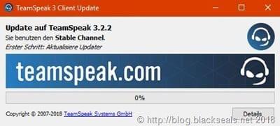 TeamSpeak Client 3.2.2 erschienen