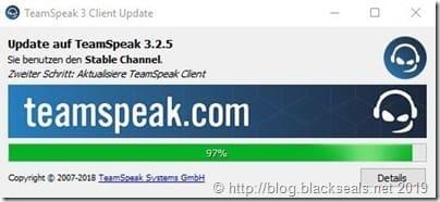 Read more about the article TeamSpeak Client 3.2.5 erschienen