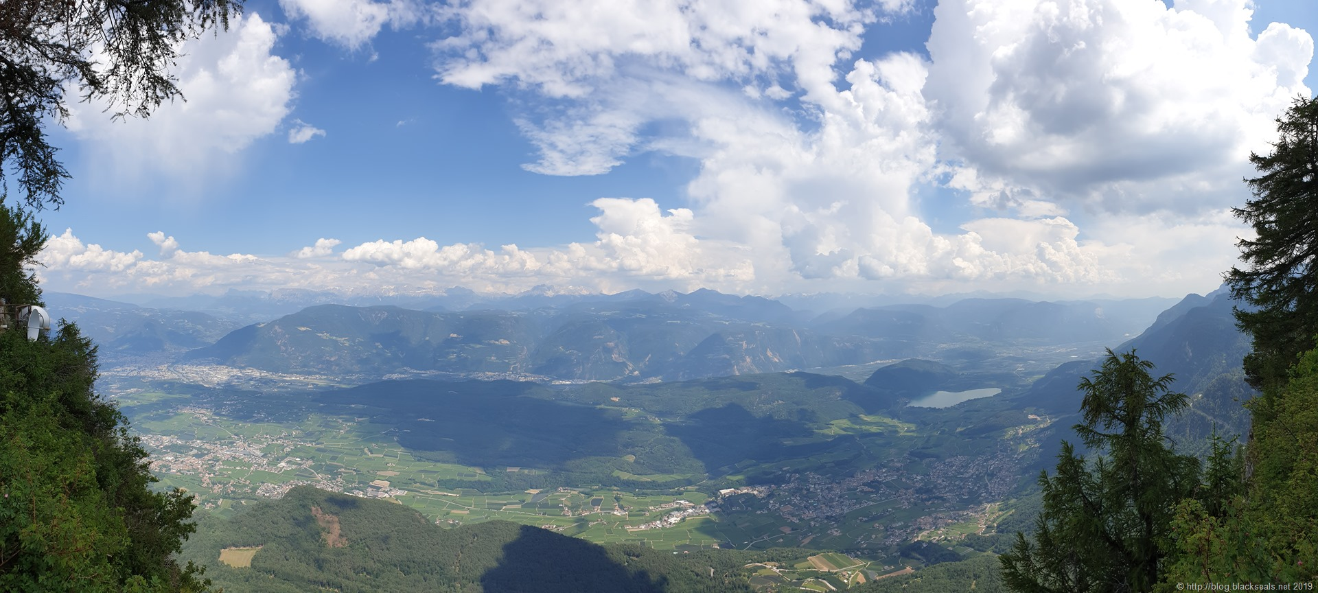 Read more about the article Sommertour 2019: Panorama über Bozen