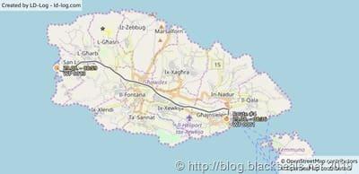 gozo_malta_tauchtag2_map