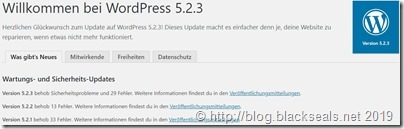 Read more about the article WordPress 5.2.3 ist da