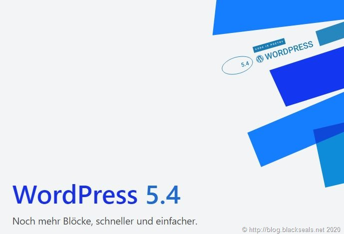 """WordPress 5.4 """"Adderley"""" ist da"""