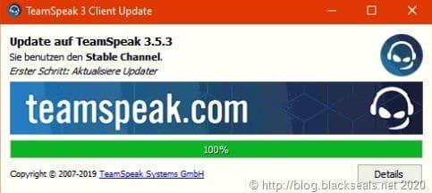 TeamSpeak Client 3.5.3 ist erschienen