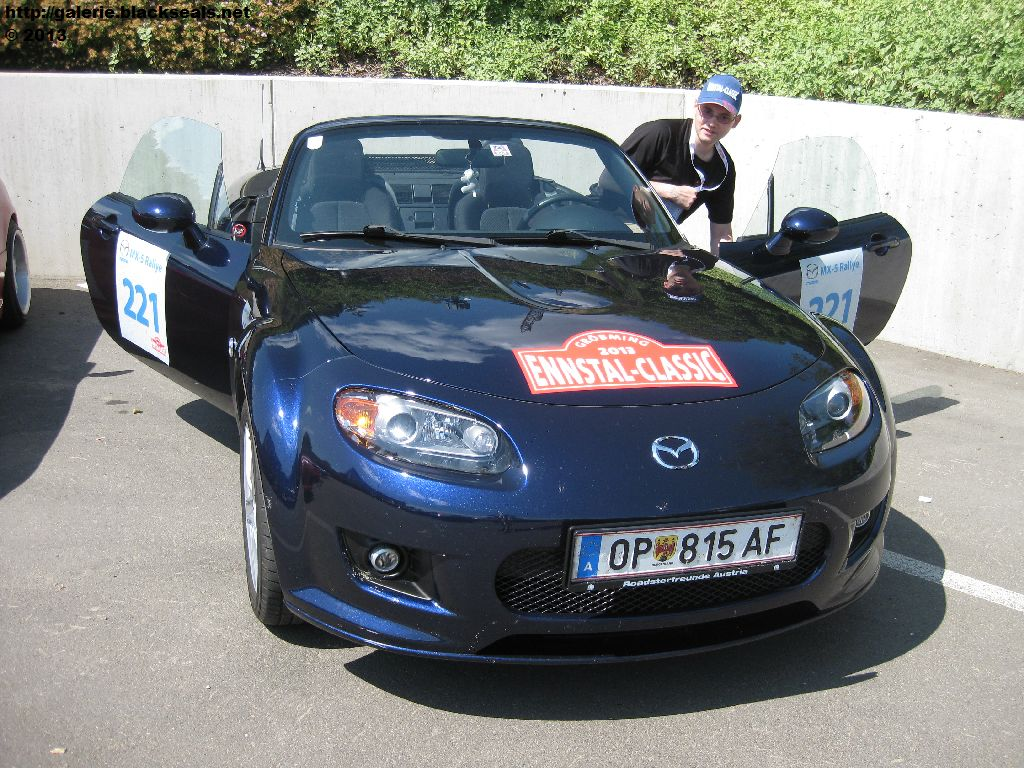 Read more about the article Ennstal Classic 2013: MX-5 Rallye 2013