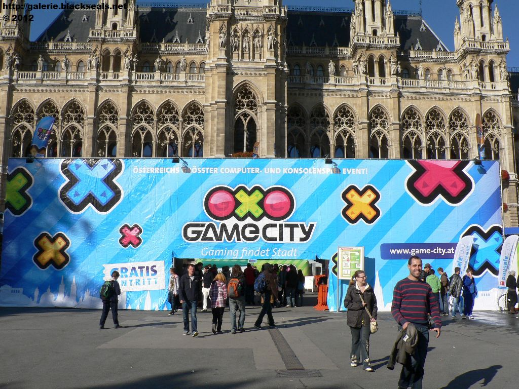 Read more about the article im Wiener Rathaus: die Game City 2012