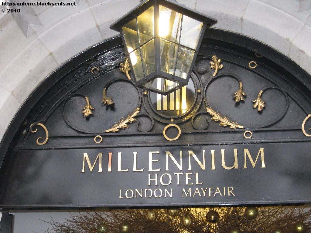 Read more about the article London 2010: Millennium Hotel London Mayfair