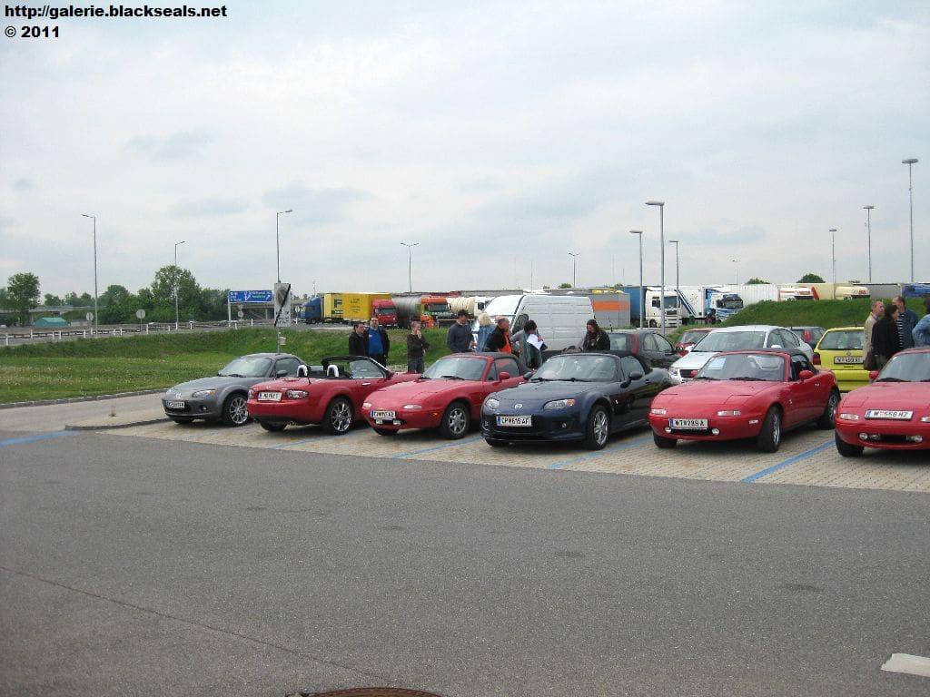 Read more about the article MX5 Cruiser Austria: 1. Mai Ausfahrt 2011