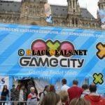 im Wiener Rathaus: die Game City 2010
