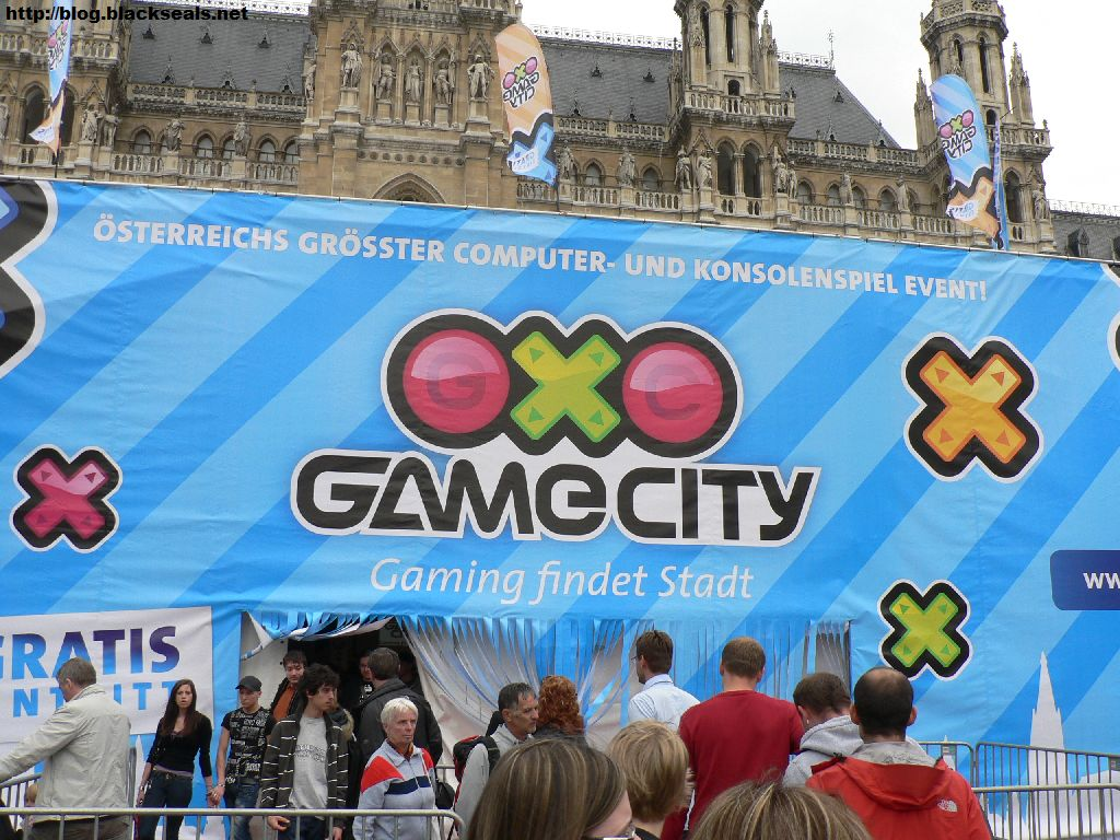 Read more about the article im Wiener Rathaus: die Game City 2010