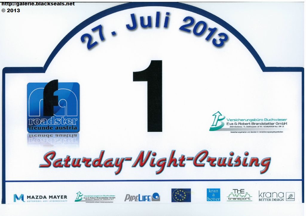 Read more about the article Saturday Night Cruising 2013: Tour