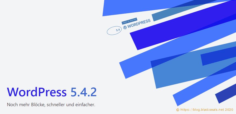 WordPress 5.4.2 und 5.3.4 sind da