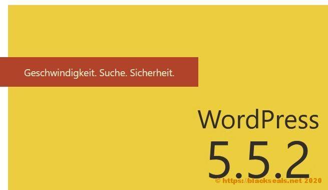 WordPress 5.4.3 und 5.5.2 sind da *Update*