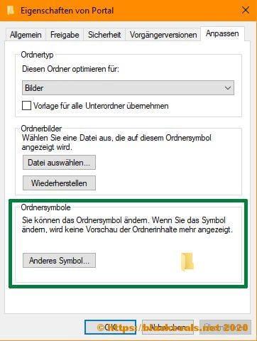 Read more about the article Ordnersymbol für Ordner auf Netzwerkfreigaben festlegen