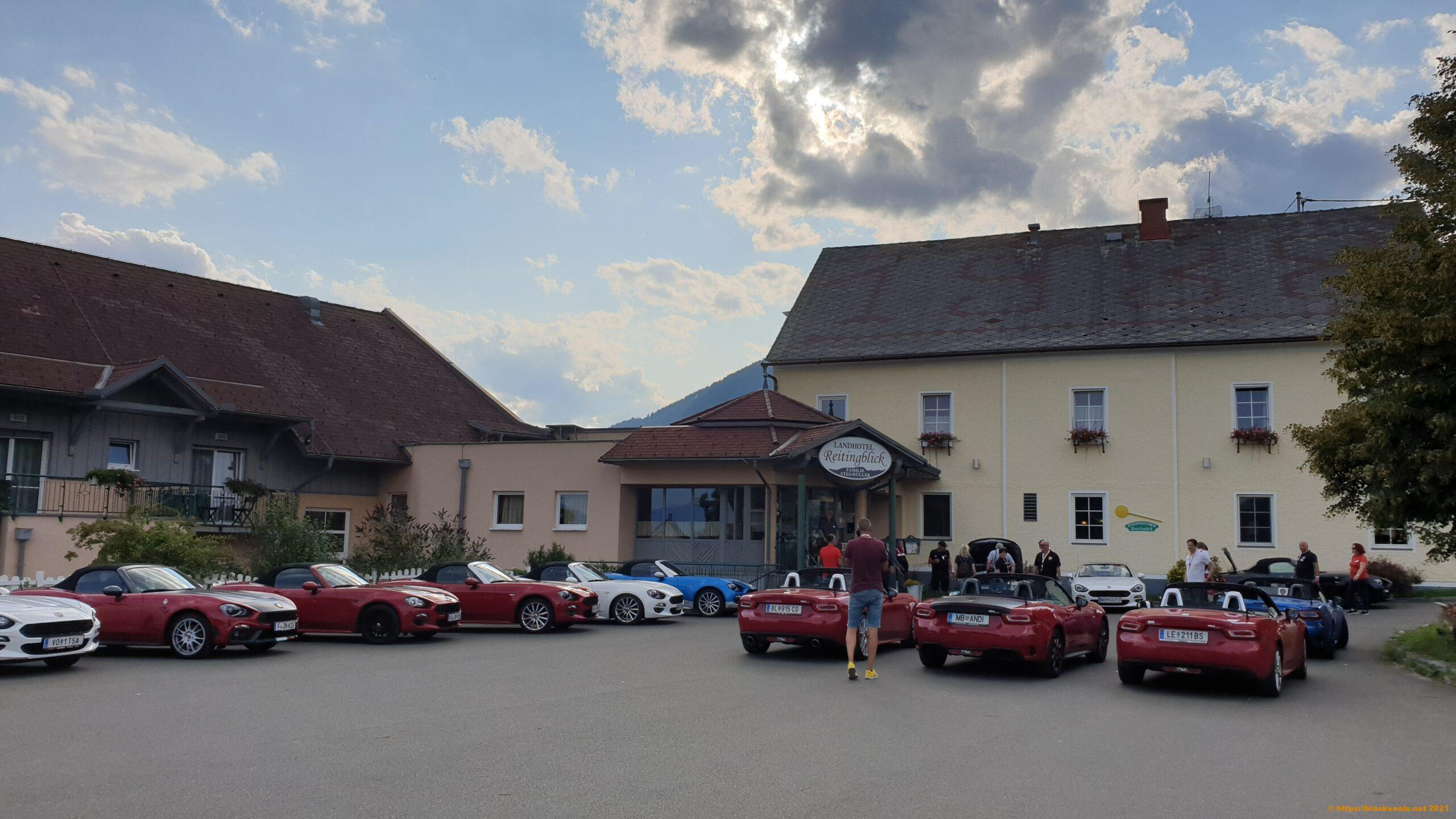Read more about the article 124 Spider Treffen 2021: Tour mit Kathi