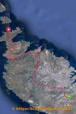 map-labranda-riviera-hotel-malta