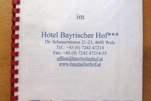 Hotel Bayrischer Hof, Wels